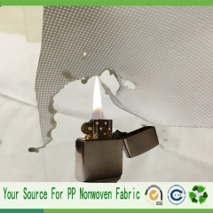 china manufacture  Fire resistant nonwoven fabric